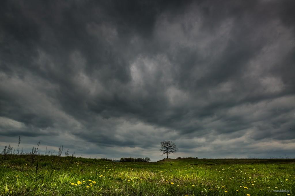 waskiel narew dolina z chmurami niedziela 1 maja
