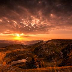 Dzień w rumuńskich Karpatach