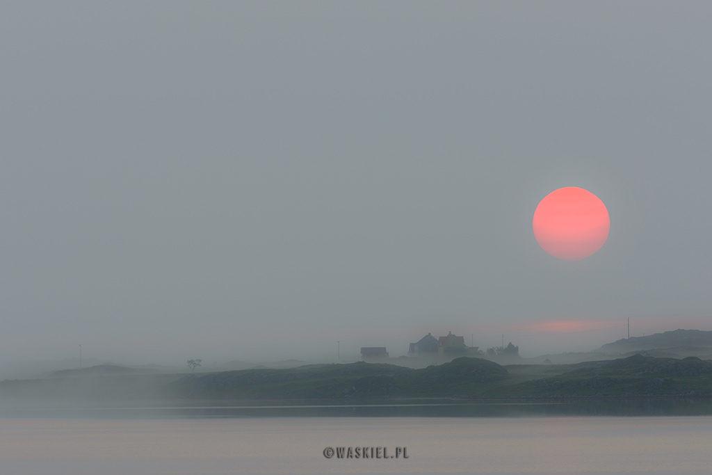 Marek Waskiel blog o fotografii Norwegia wschód słońca