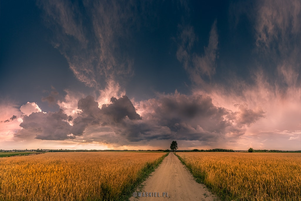 Fotodziennik: 17 lipca fotografowanie chmur
