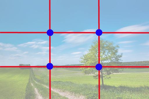kompozycja w fotografii reguła trójpodziału blog Marek Waskiel