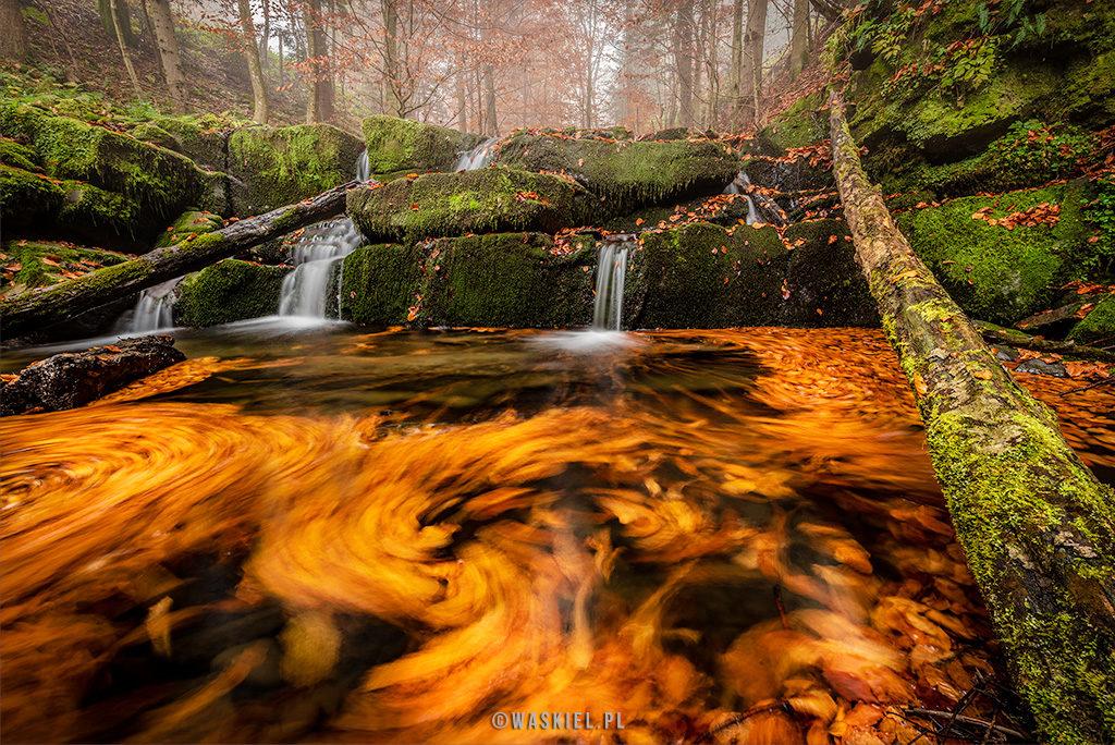bieszczadzkie wodospady waskiel blog o fotografii