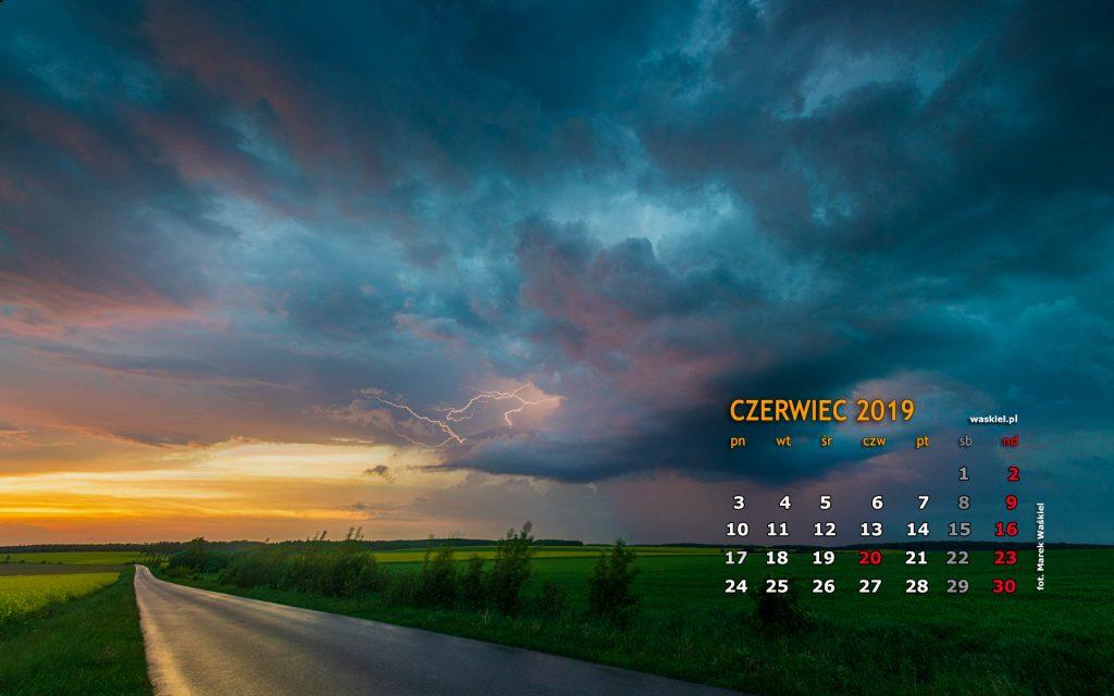 Wieczorna burza nad Podlasiem