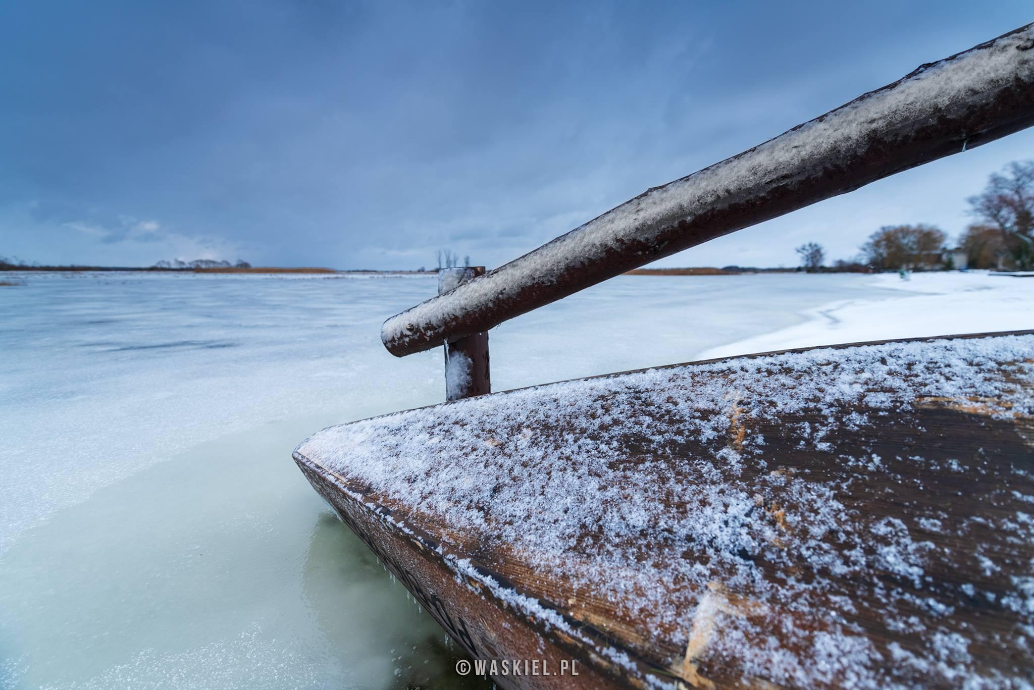 Fotografia krajobrazowa: Kra na rzece Bug: Vlog#025