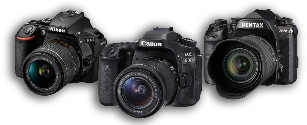 Zdjęcie prezentujące jak kupić dobry aparat fotograficzny - lustrzankę.