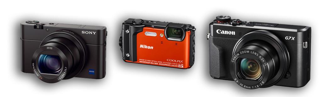 Obraz przedstawiający, jak wybrać dobry kompaktowy aparat fotograficzny.