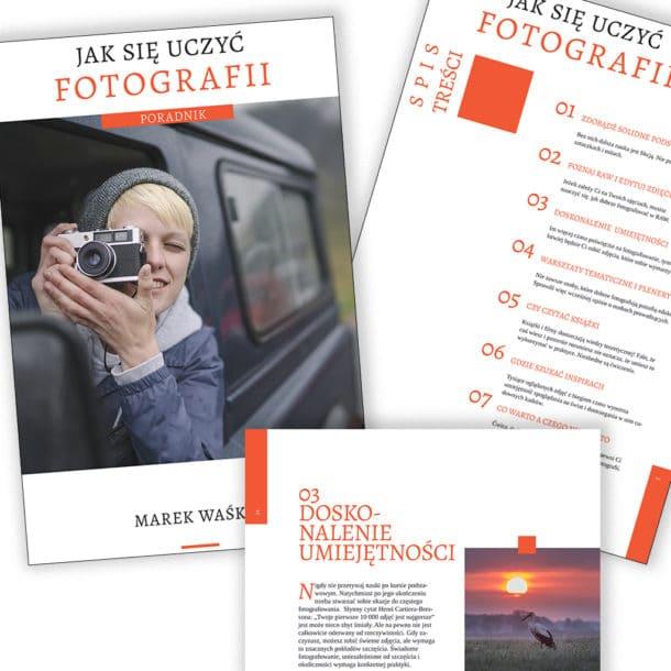 Obraz przedstawiający jak wygląda darmowy e-book o fotografii.