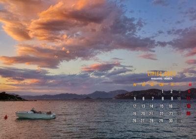 Obraz przedstawiający kalendarz fotograficzny na lipiec 2021.