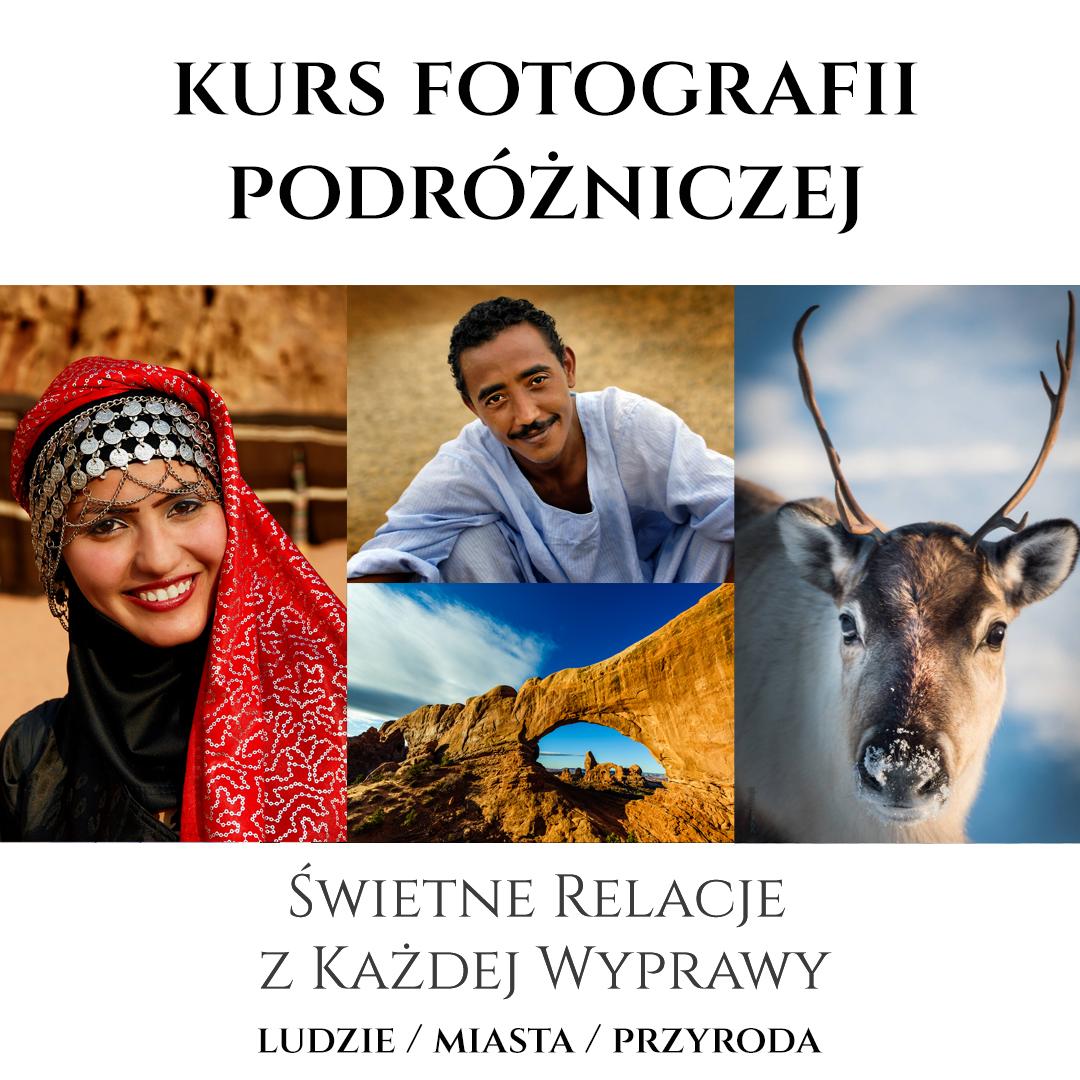 Obraz przedstawiający, jak wygląda kurs fotografii podróżniczej online.