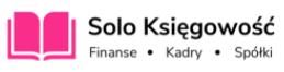 Obraz przedstawiający logo biura rachunkowego w Białymstoku Solo Księgowość.